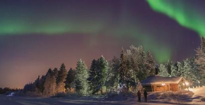 Northern Lights-A Lapland Winter