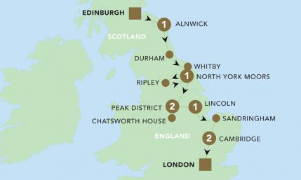 Map of Historic Eastern England 2019 | BRT
