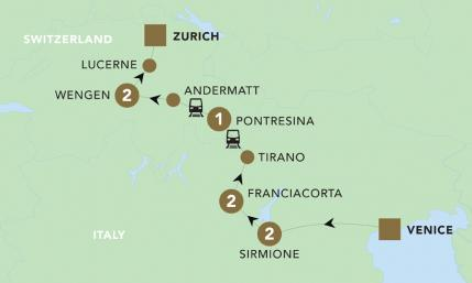 Map Of Italy And Switzerland.Vistas Of Italy And Switzerland Switzerland Tours Blue Roads Touring